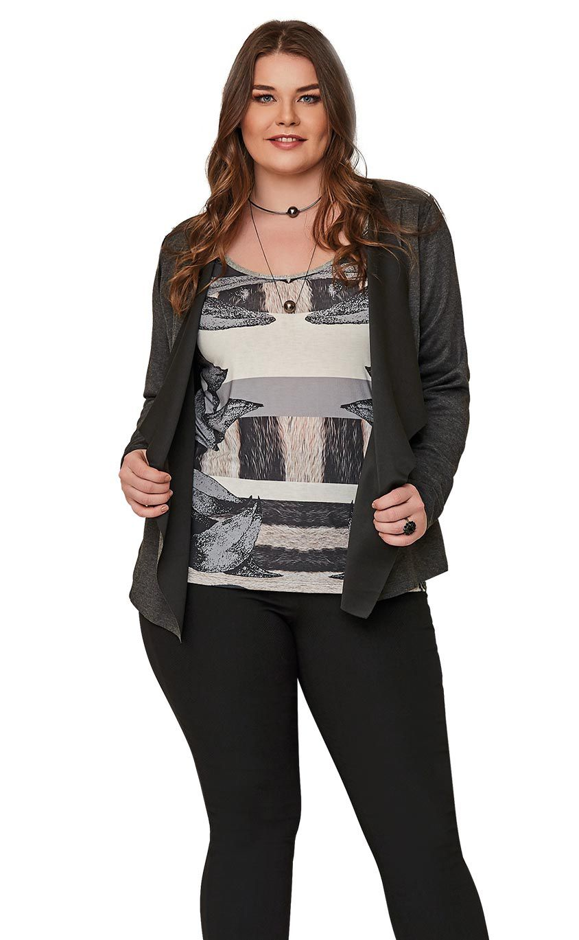 Blusa Plus Size Flick
