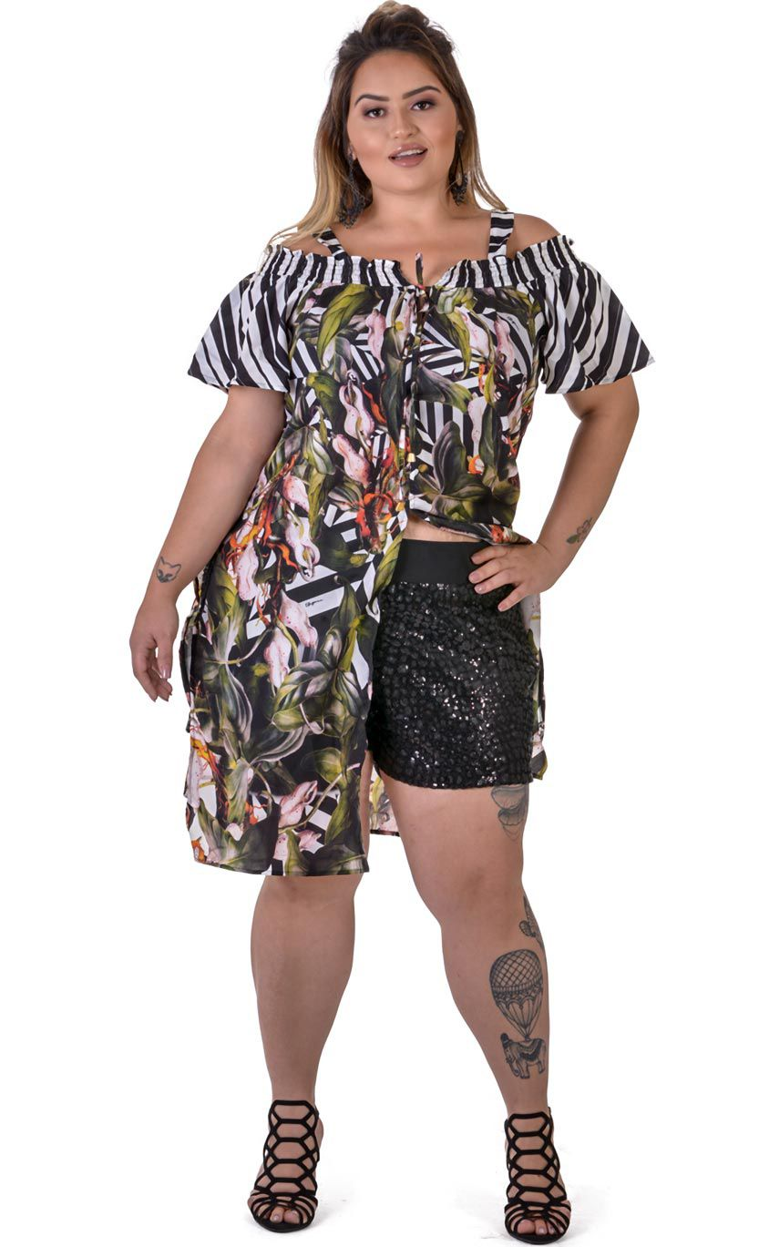 Blusa Plus Size Gitano