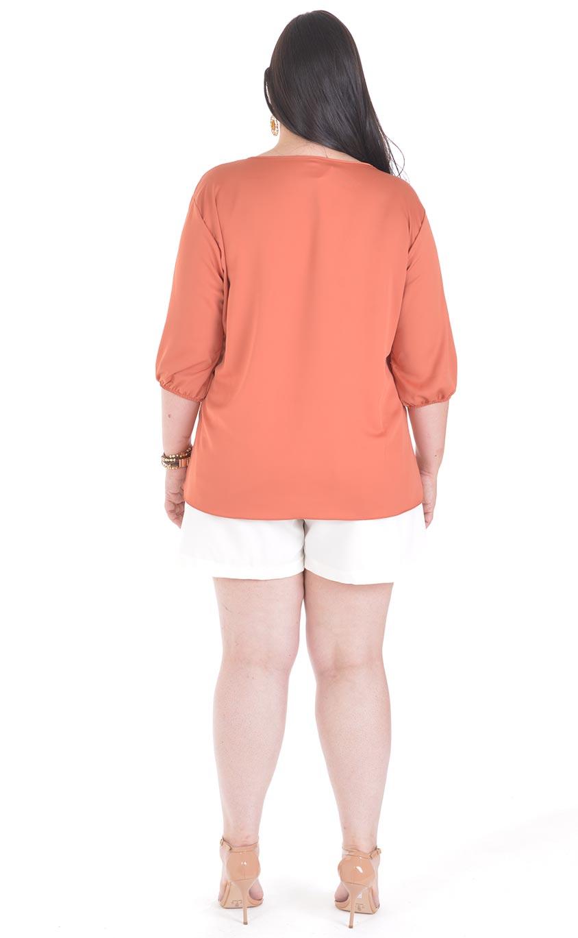 Blusa Plus Size Koralle