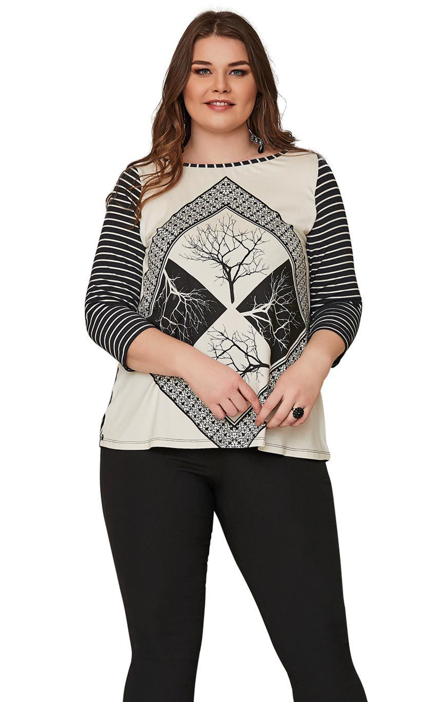 Blusa Plus Size Lung