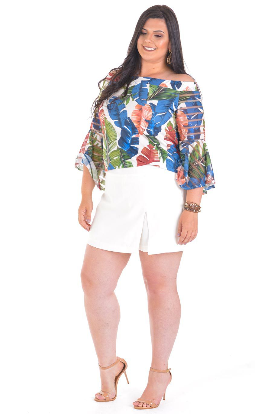 Blusa Plus Size May
