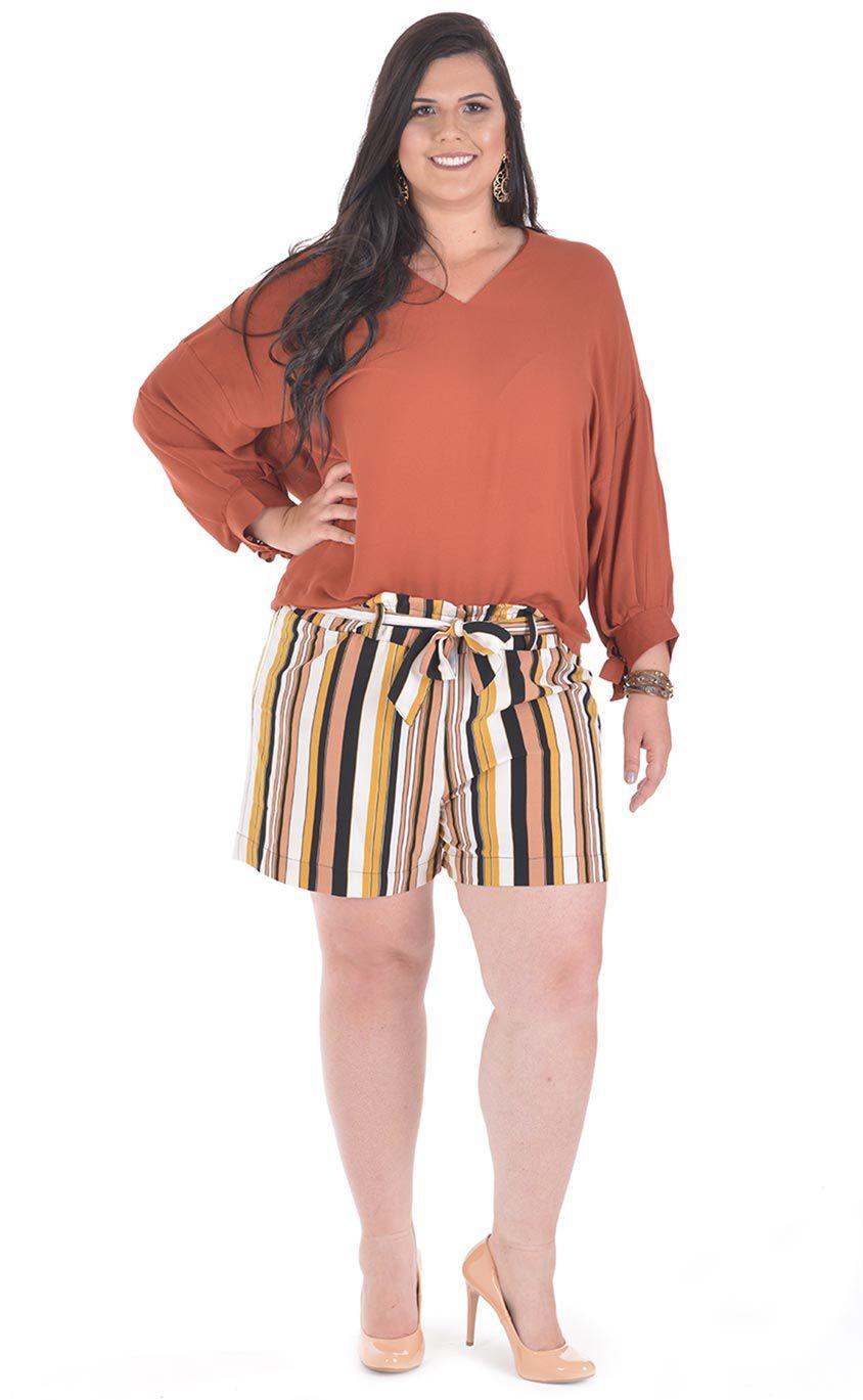 Blusa Plus Size Nicy