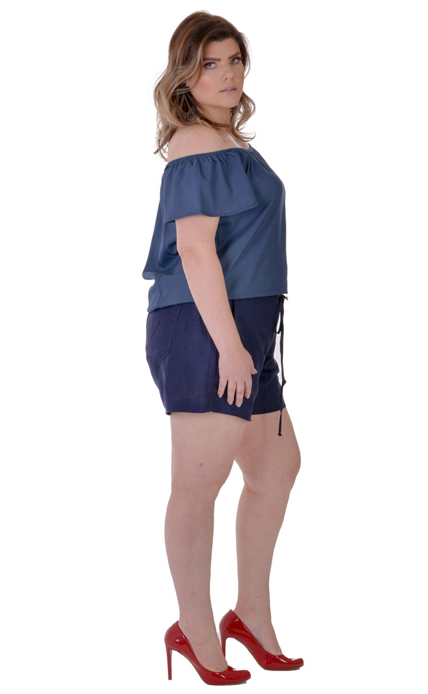 Blusa Plus Size Overall