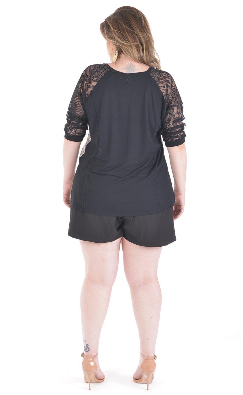 Blusa Plus Size Print