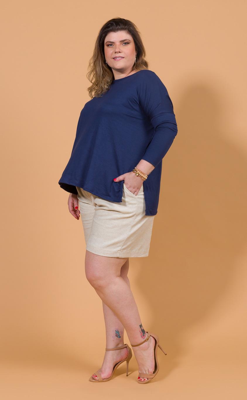 Blusa Plus Size Sample