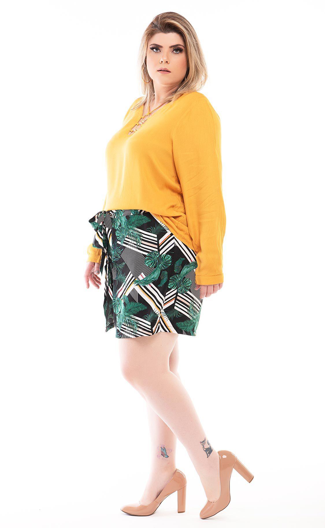 Blusa Plus Size Senf