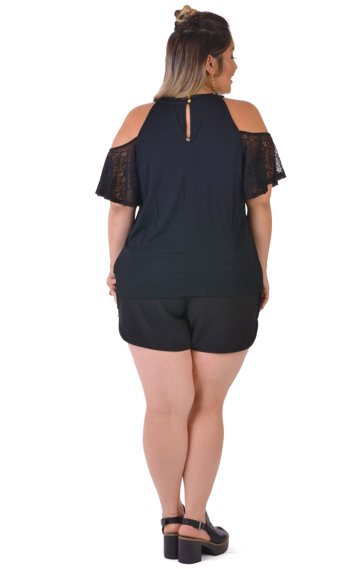 Blusa Plus Size Spalla