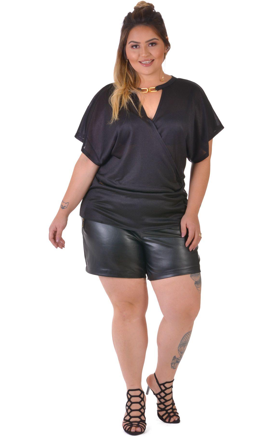 Blusa Plus Size Twine