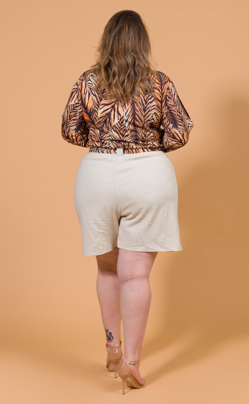 Blusa Plus Size Unsa