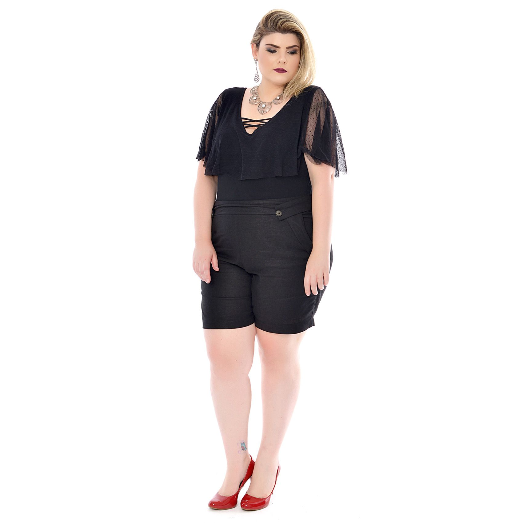 Body Plus Size Frill