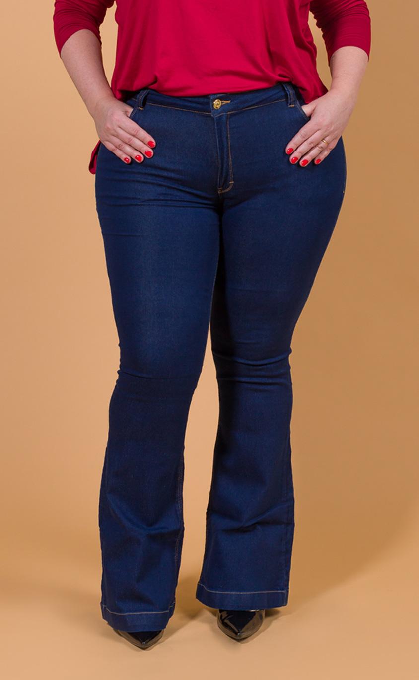 Calça Jeans Plus Size Belt