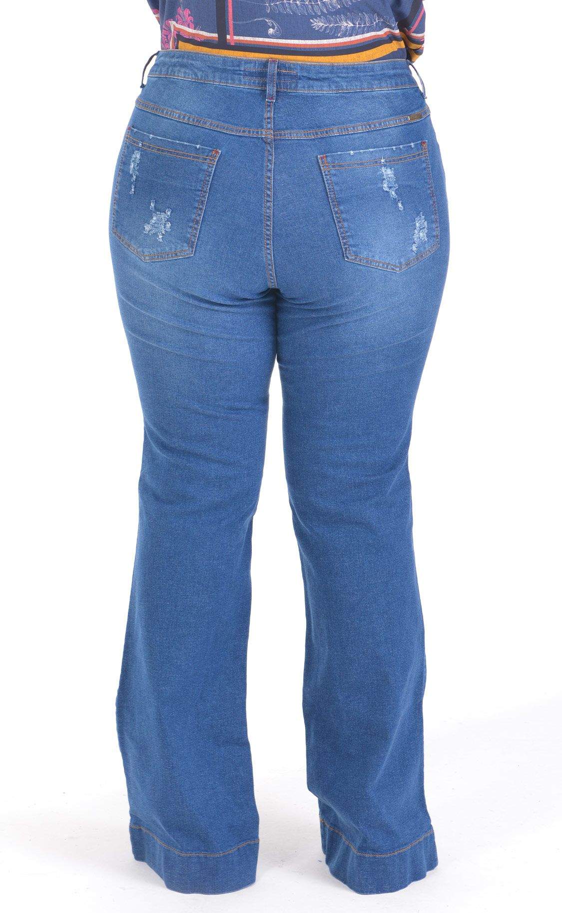 Calça Jeans Plus Size Hosen