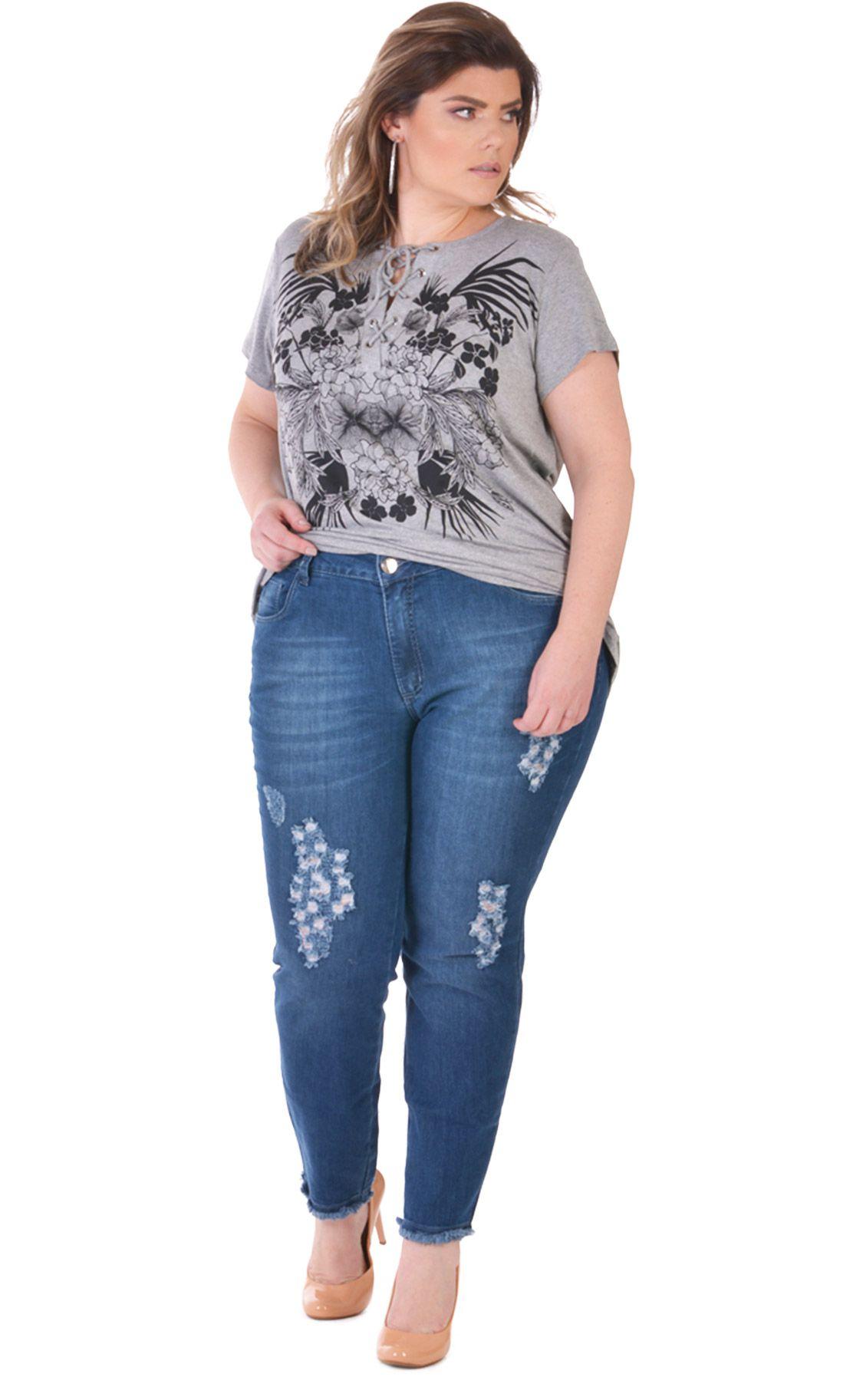 Calça Jeans Plus Size Murky