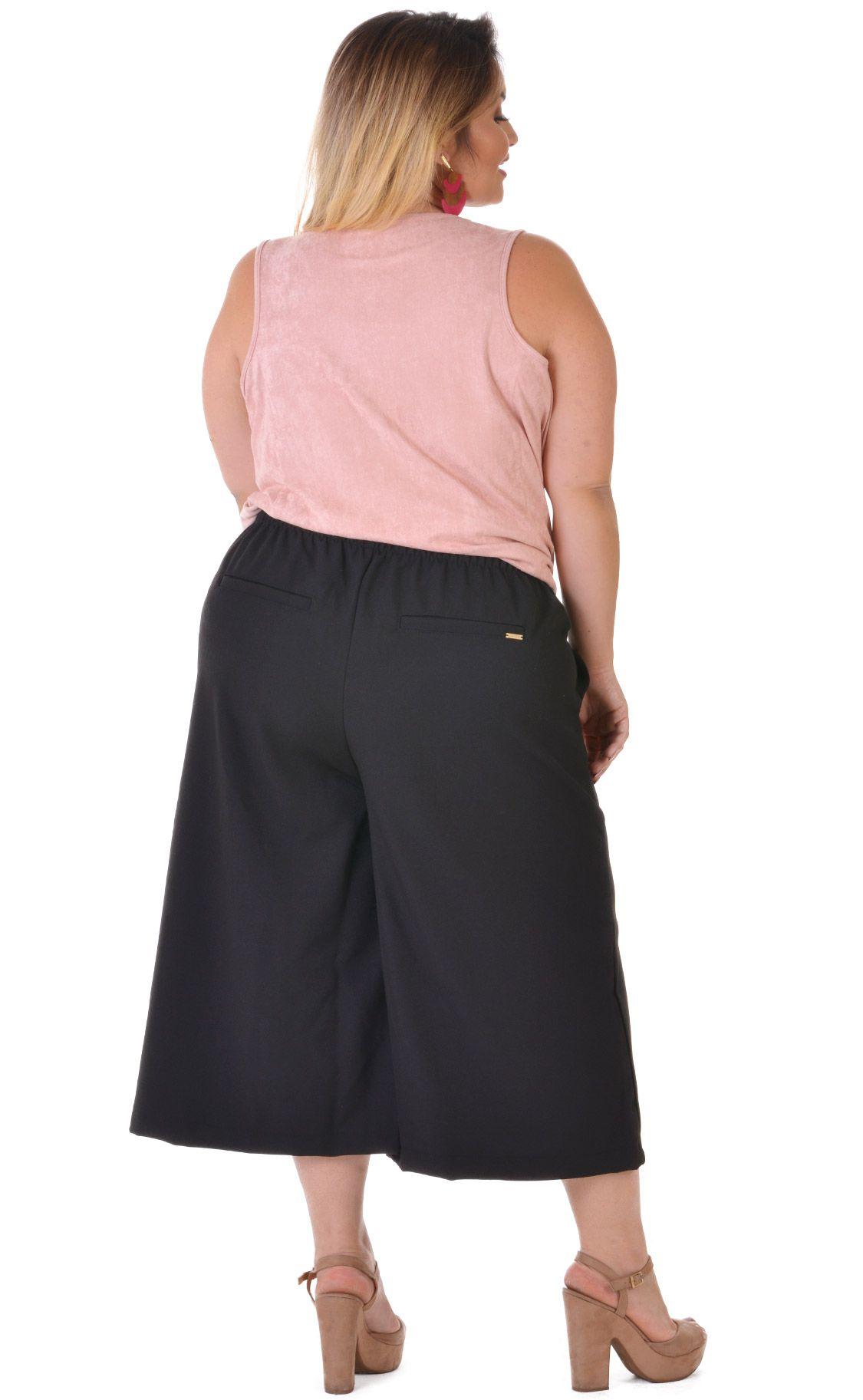Calça Plus Size Leinen