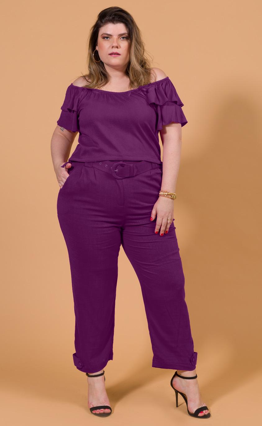 Calça Plus Size Violet