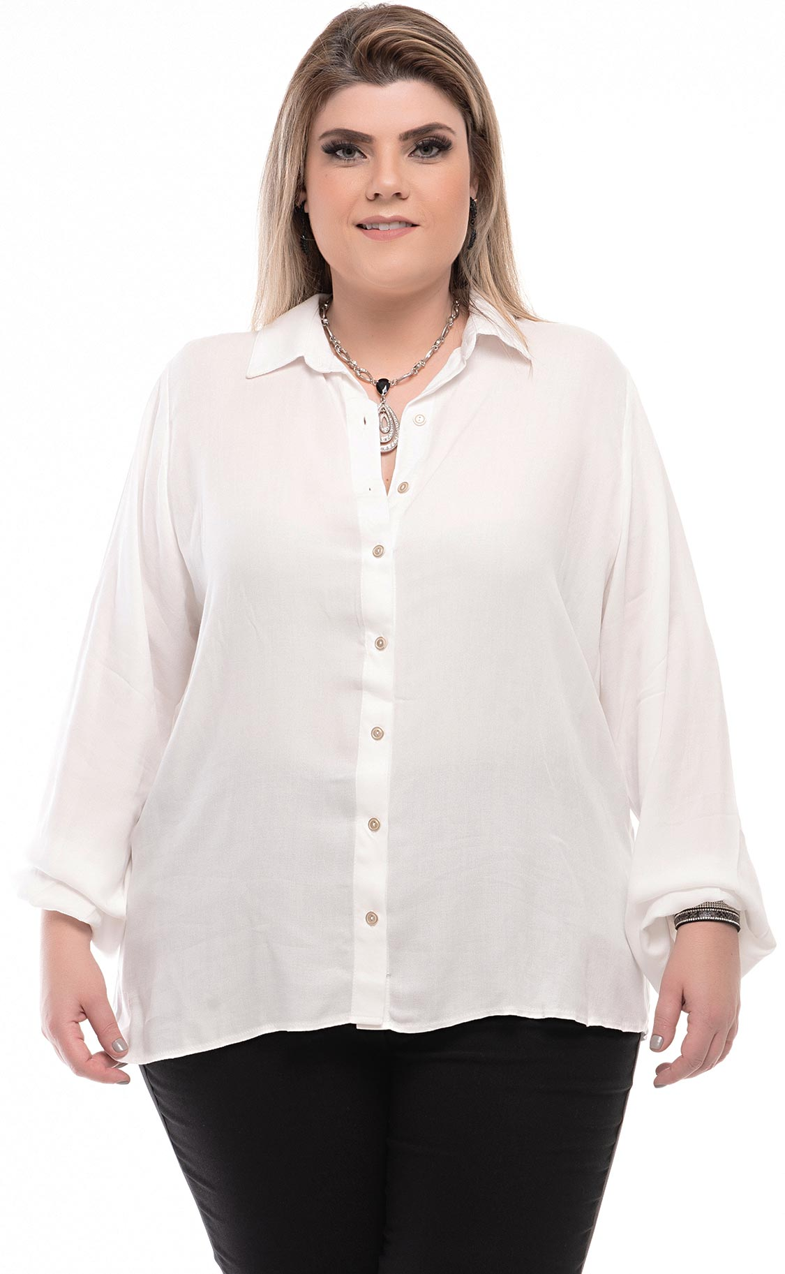 Camisa Plus Size Wiflare