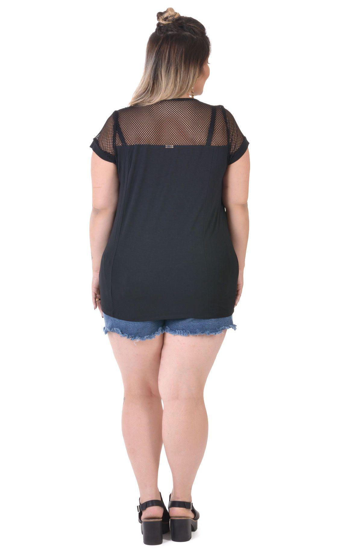 Camiseta Plus Size Canvas