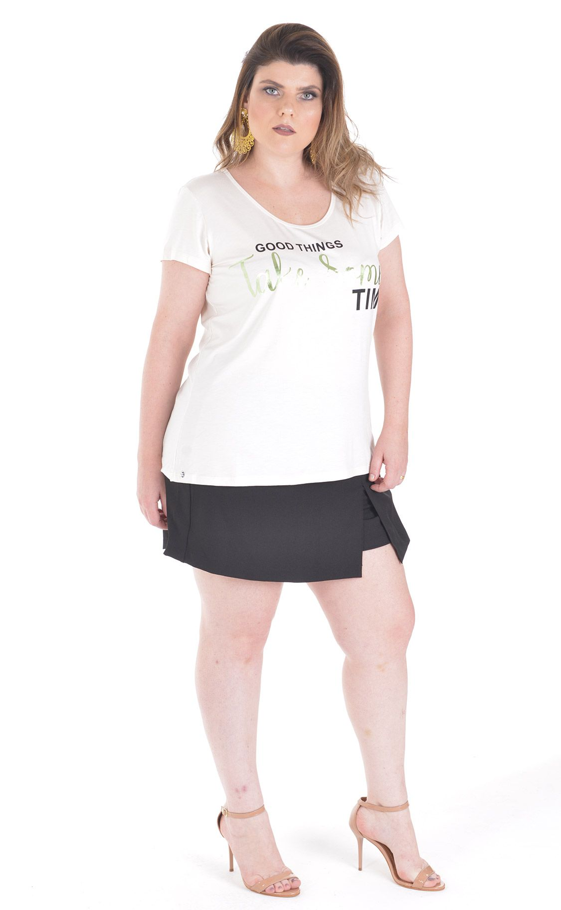 Camiseta Plus Size Ghings