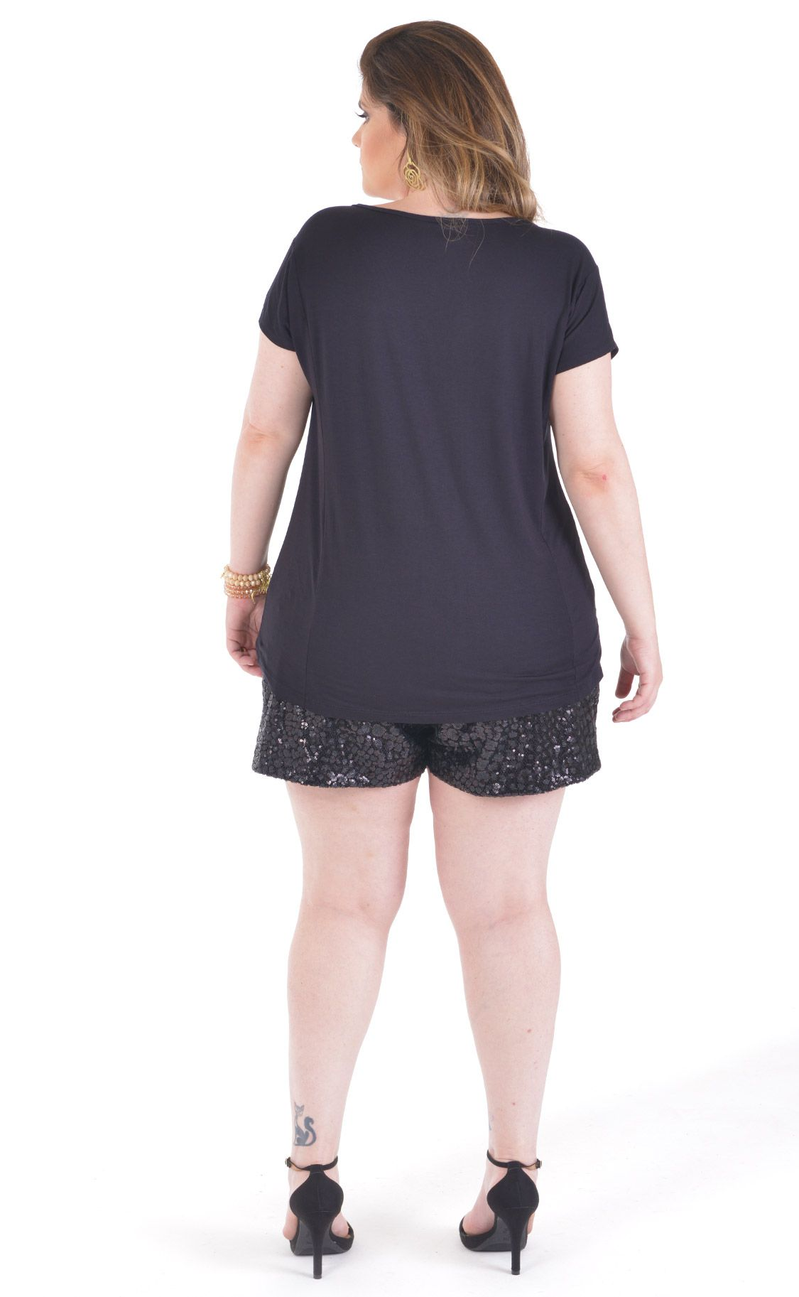 Camiseta Plus Size L'Amour