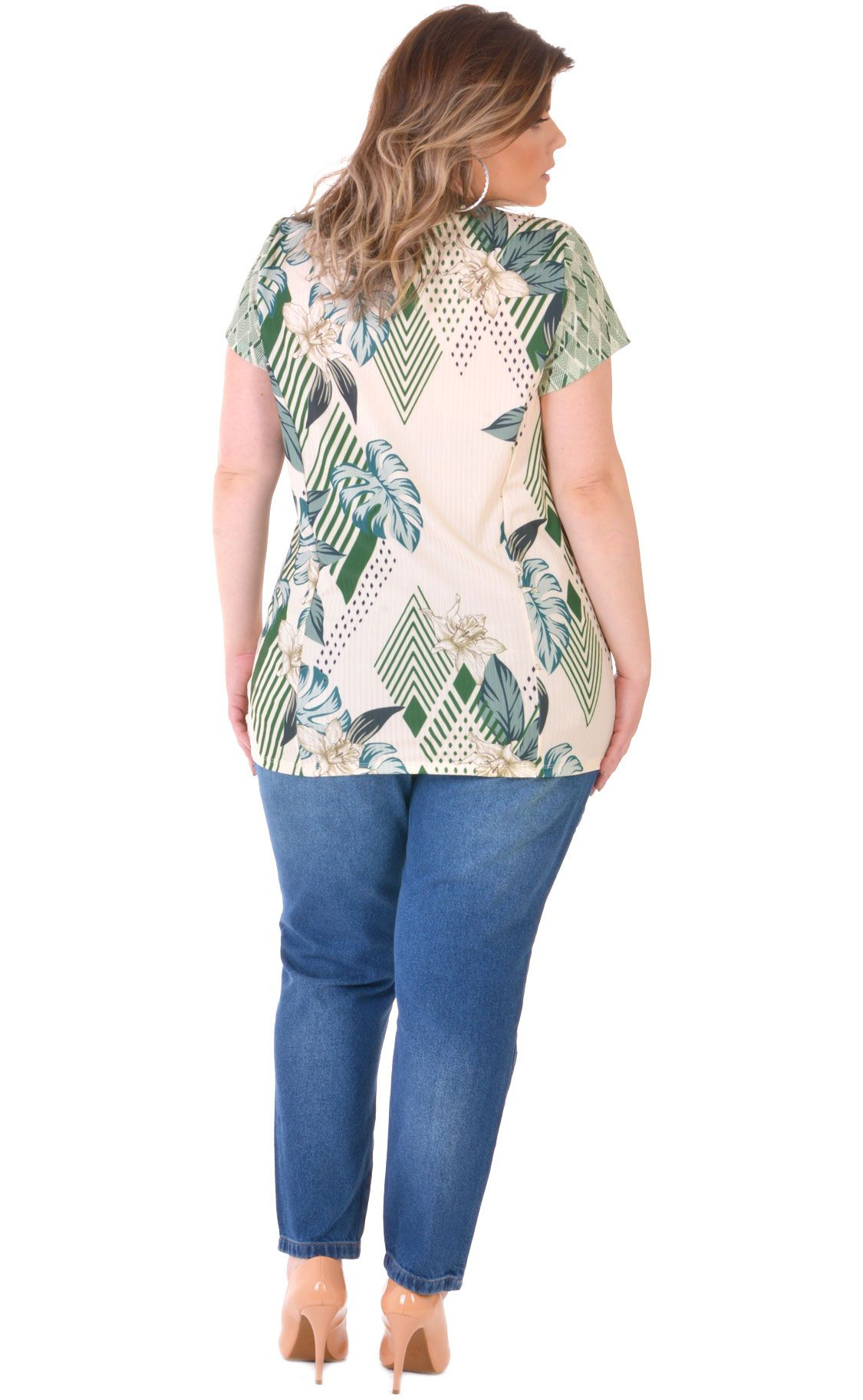 Camiseta Plus Size Rustic