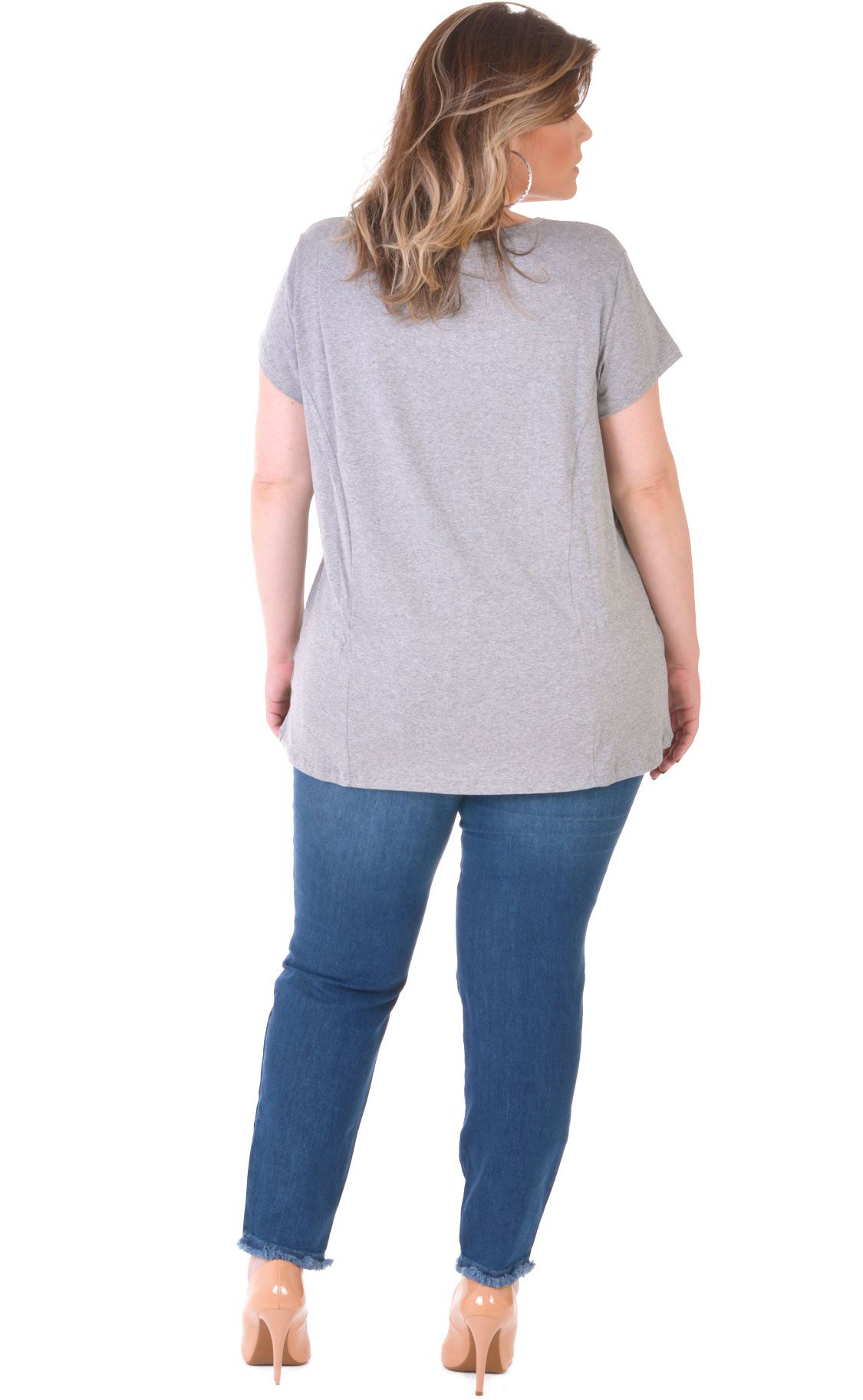 Camiseta Plus Size String