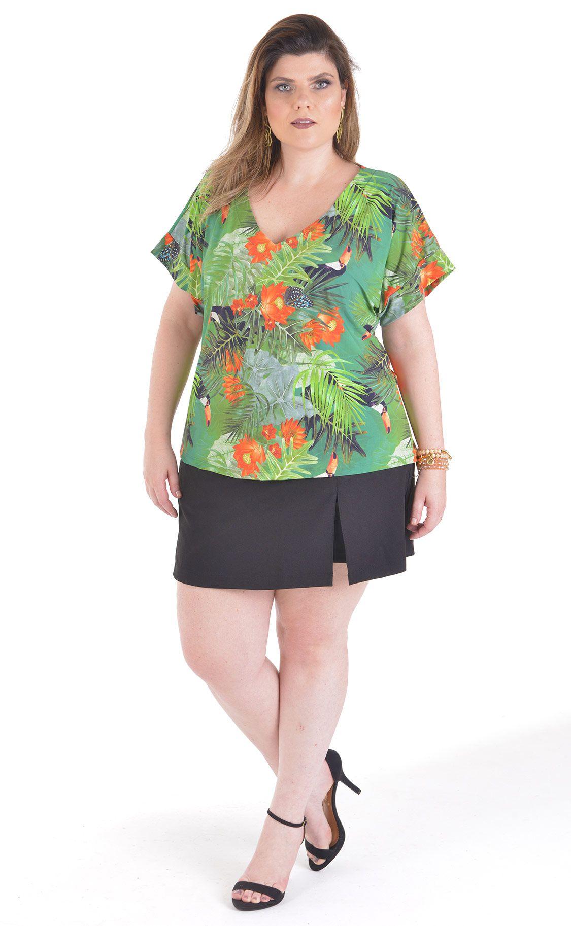 Camiseta Plus Size Toucan