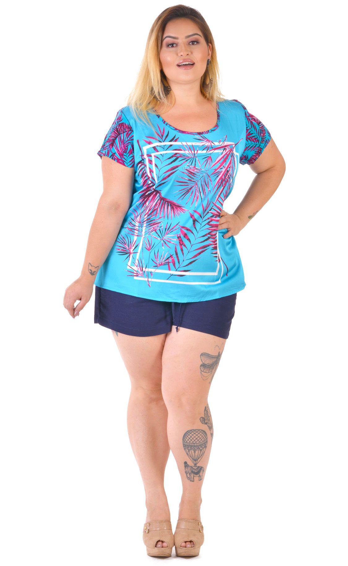 Camiseta Plus Size Und