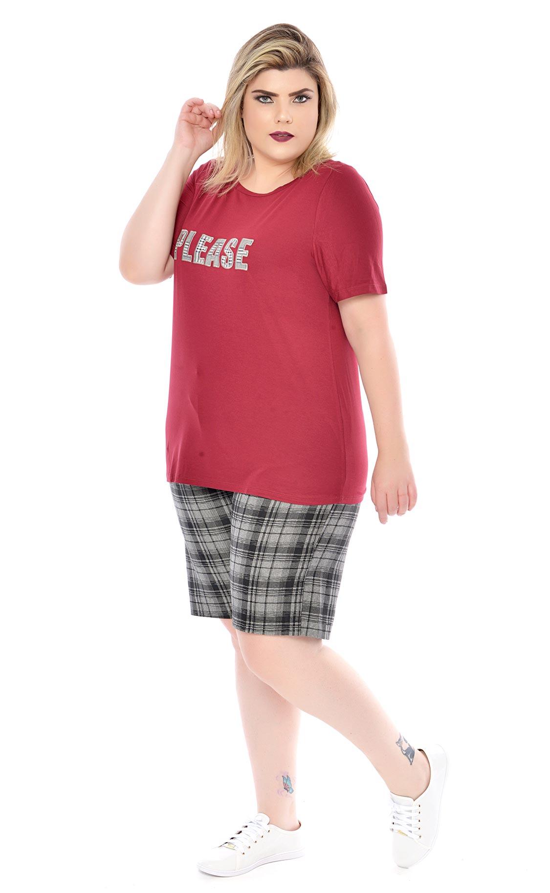 Camiseta Plus Size Wein