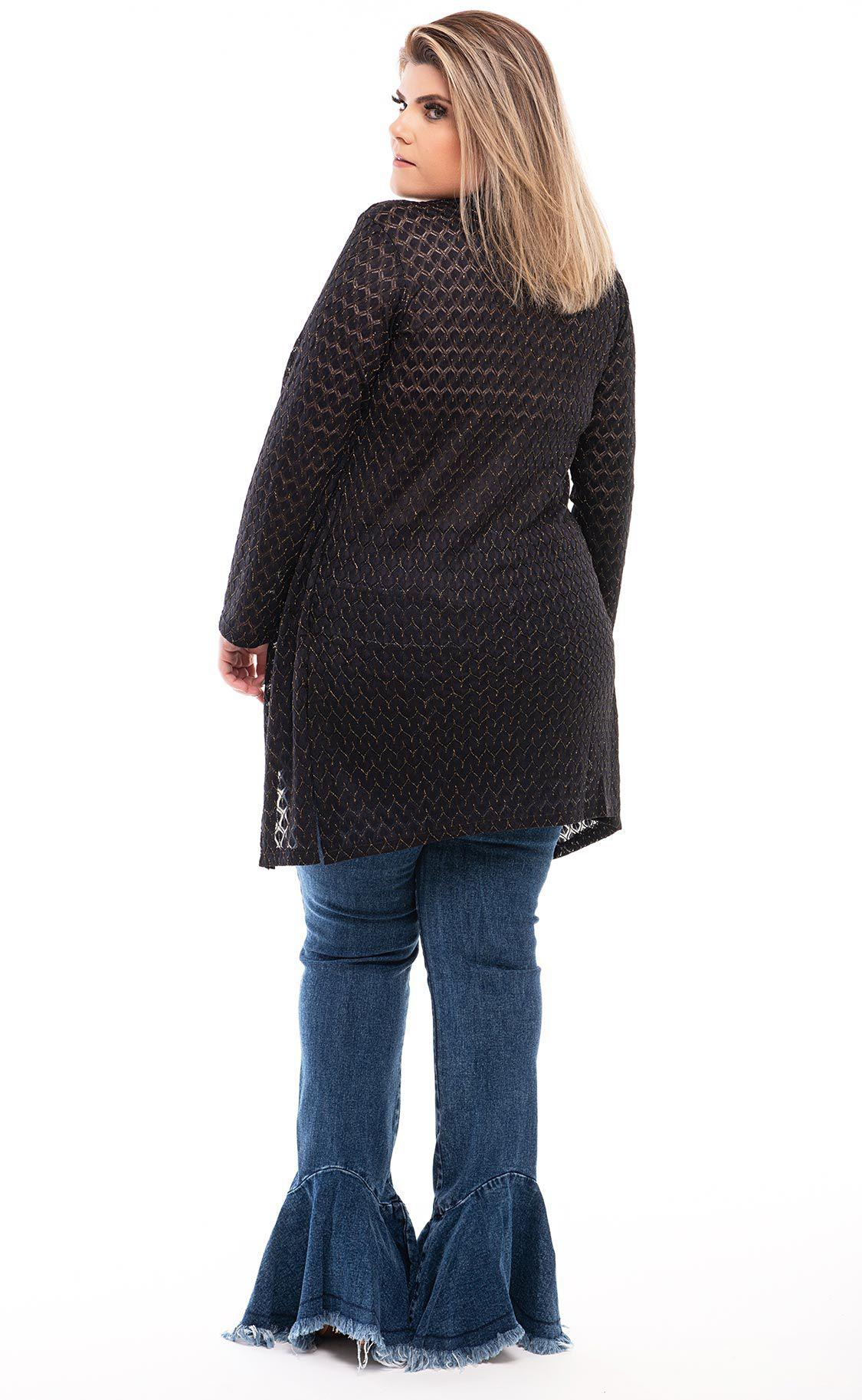 Cardigan Plus Size Kahi