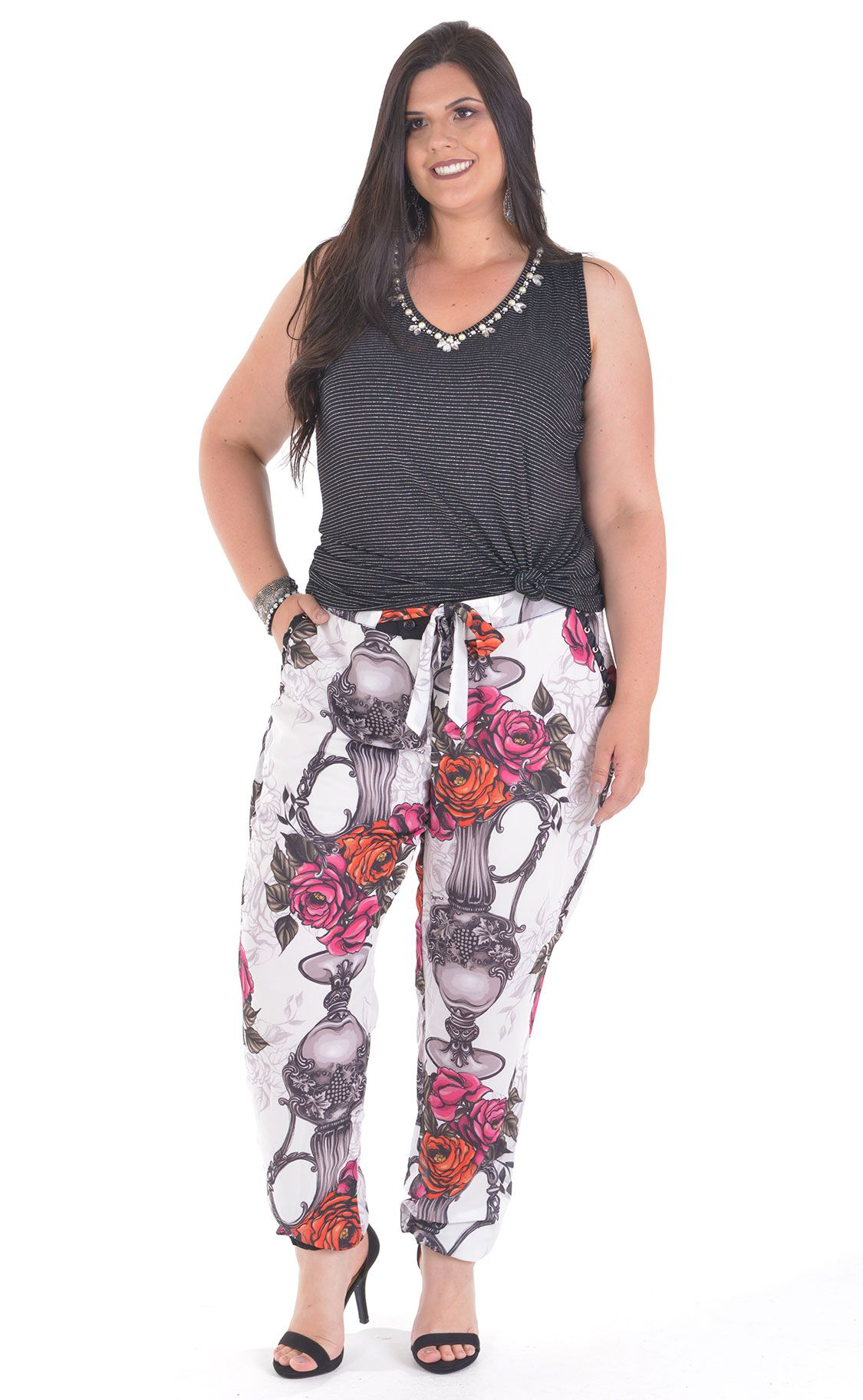 Regata Plus Size Brillo