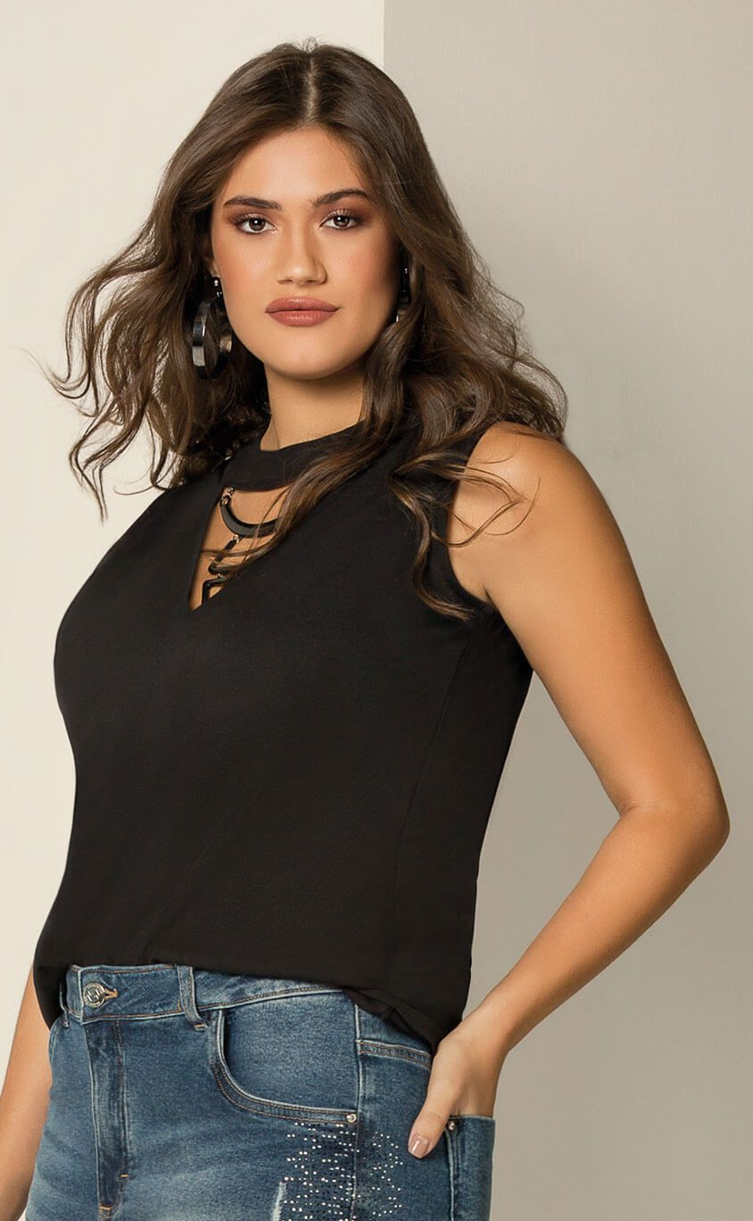 Regata Plus Size Collana