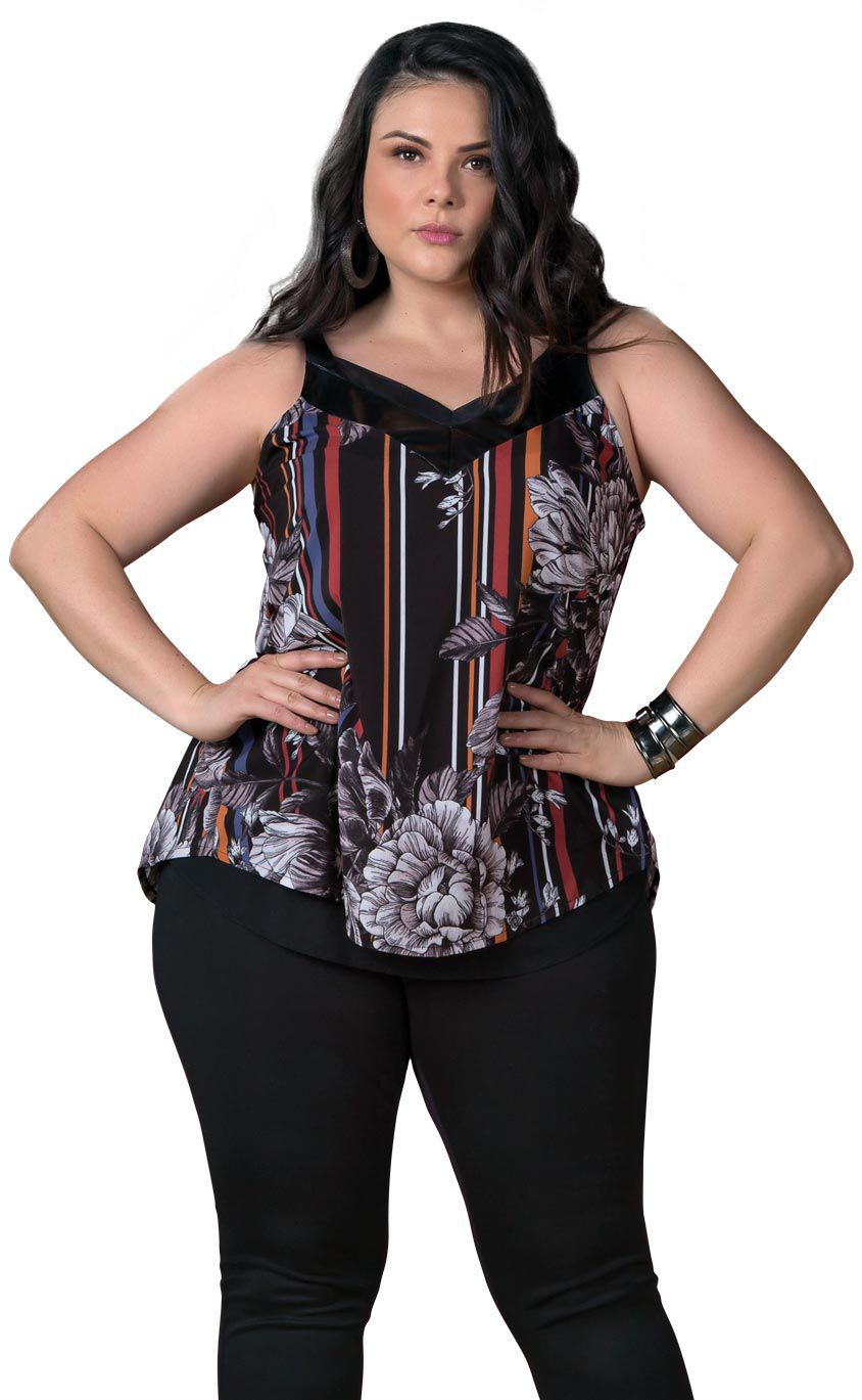 Regata Plus Size Flower