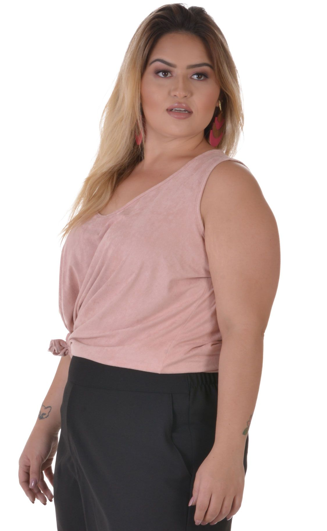 Regata Plus Size Gamuza