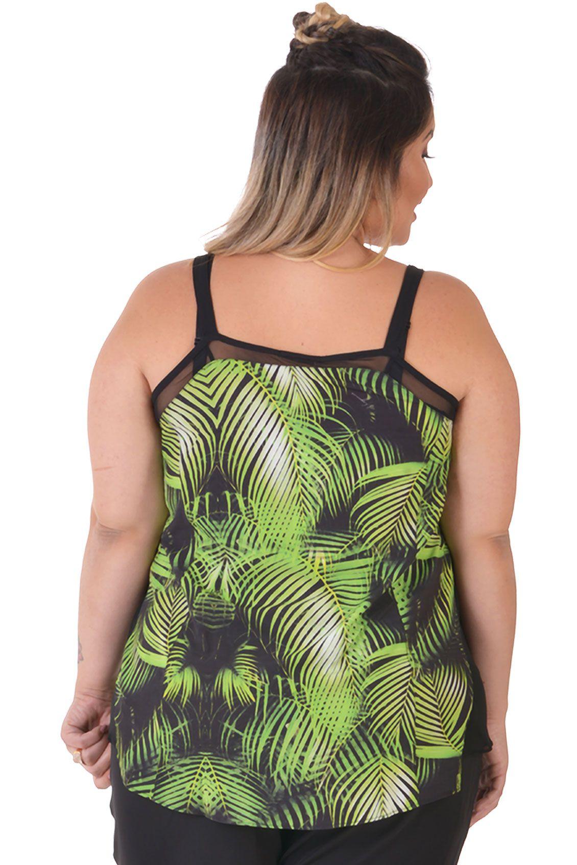 Regata Plus Size Palm