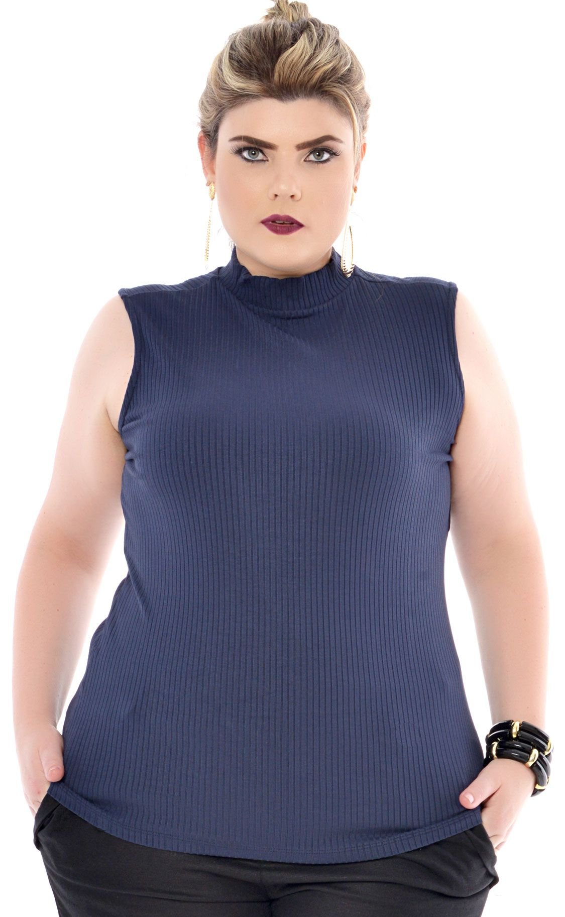 Regata Plus Size Ribana