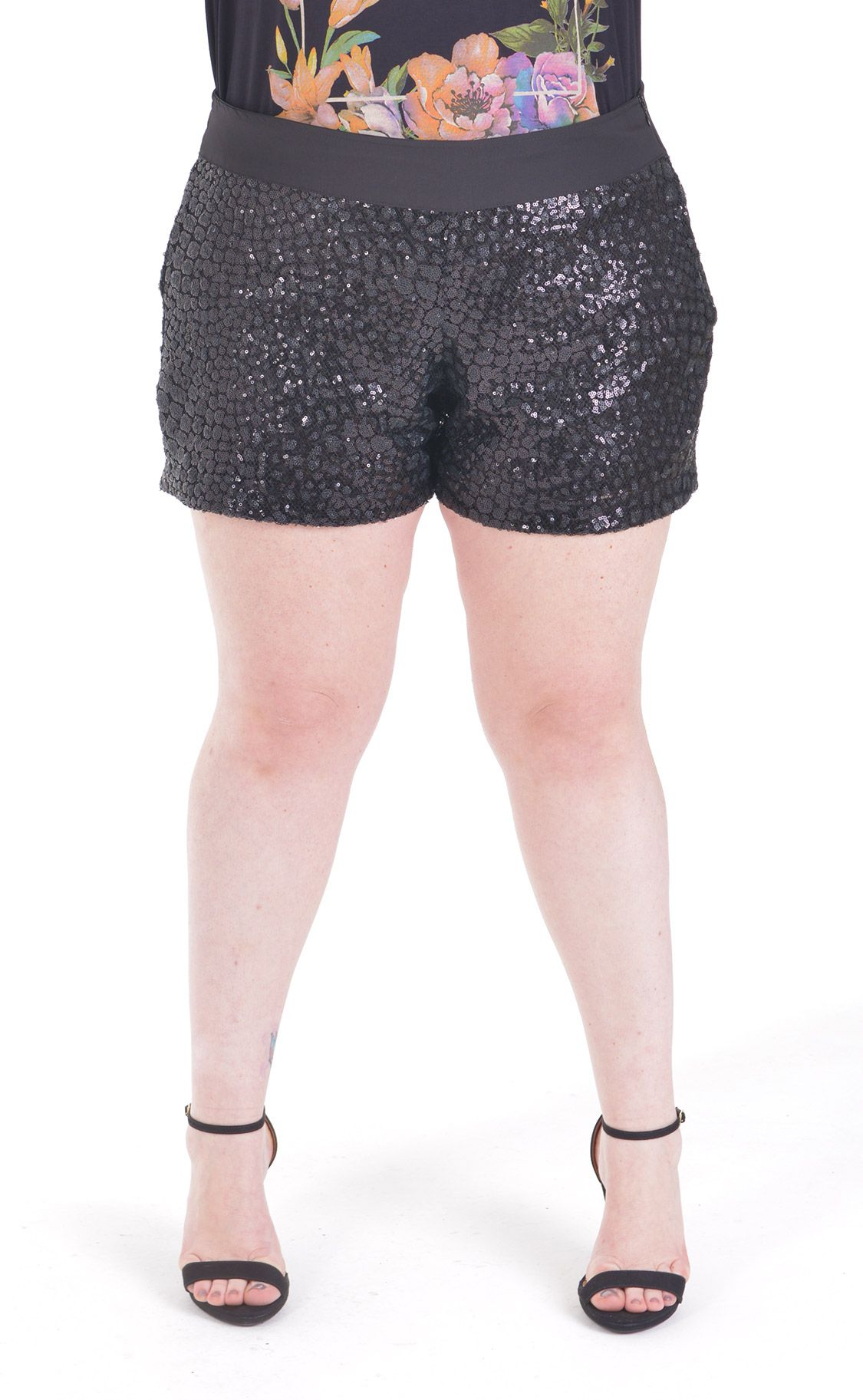 Shorts Plus Size Paete
