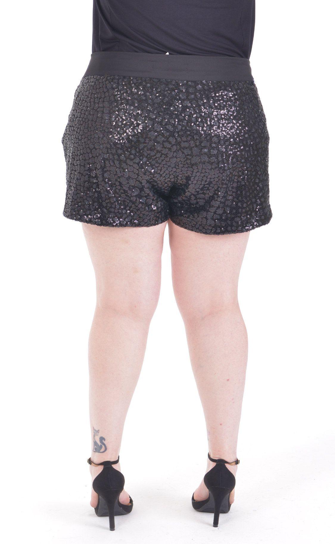 Shorts Plus Size Paete