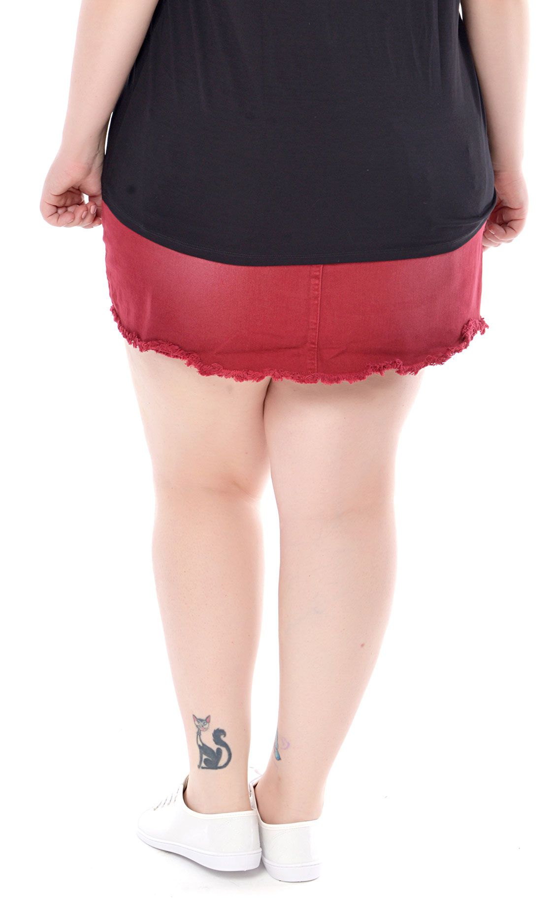 Shorts Saia Plus Size Rot