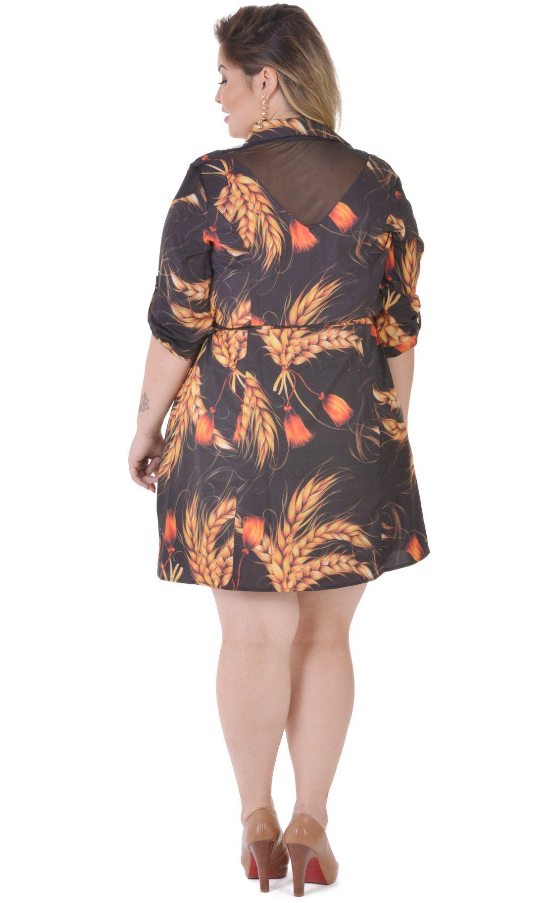 Vestido Plus Size Grano