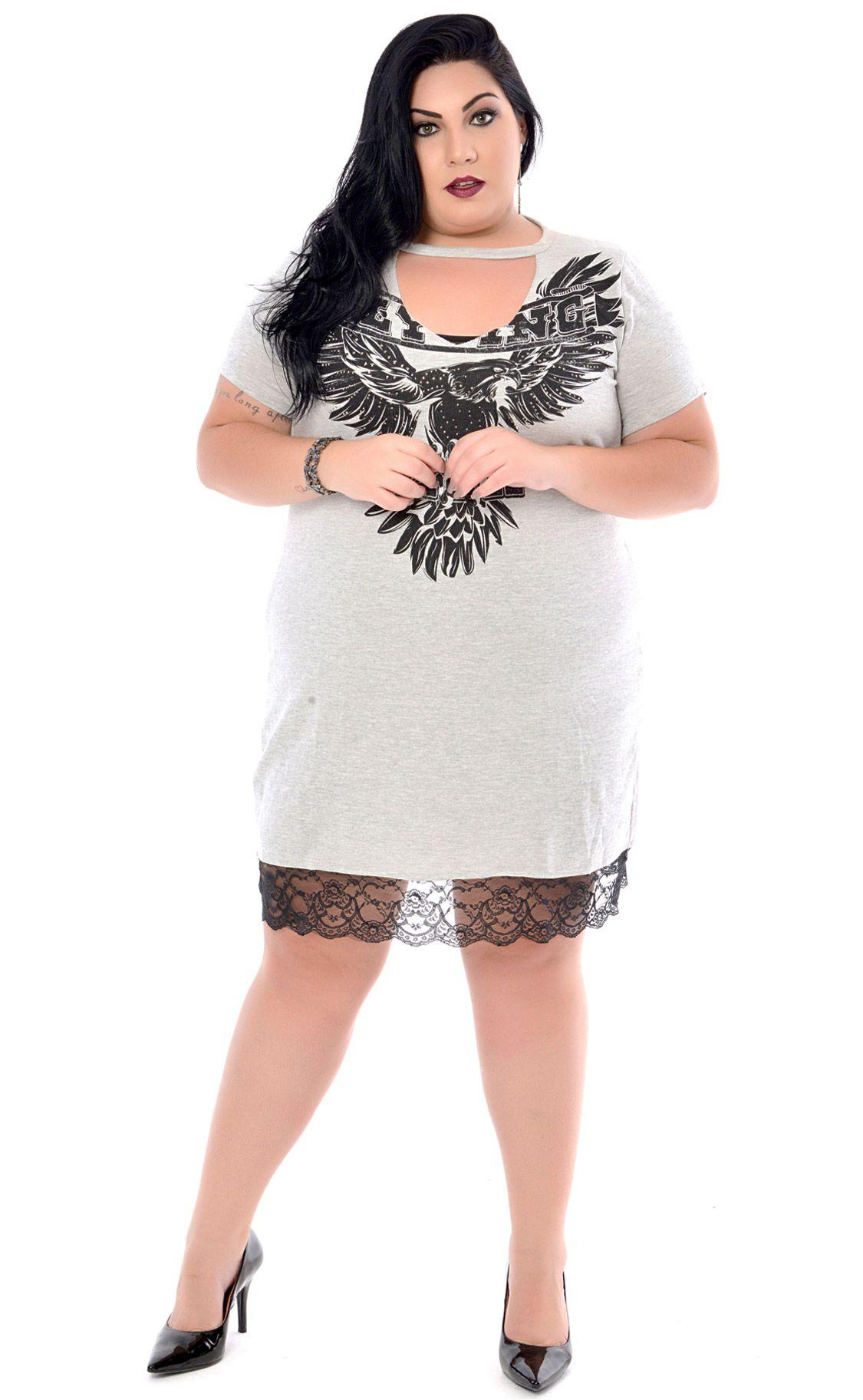 Vestido Plus Size Aquila