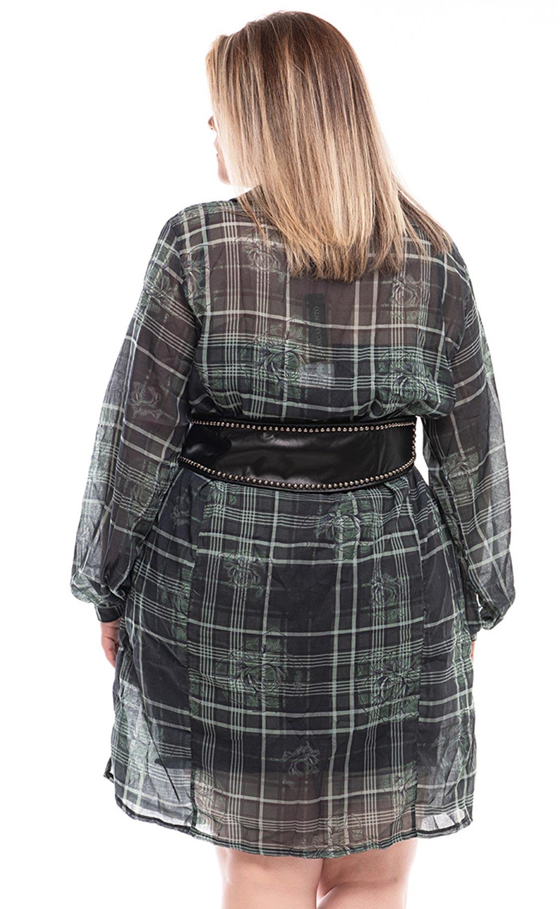 Vestido Plus Size Crys