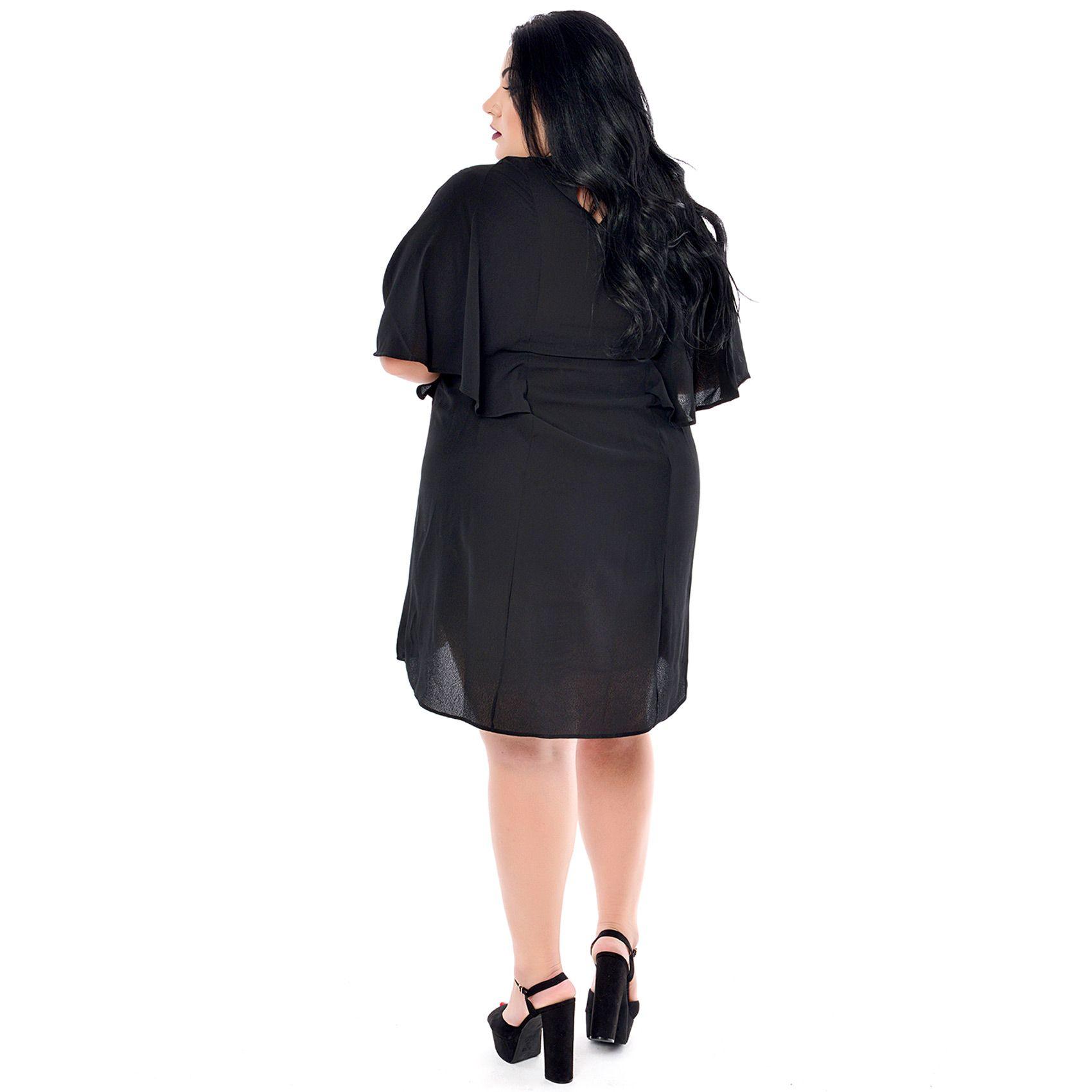 Vestido Plus Size Kaftan