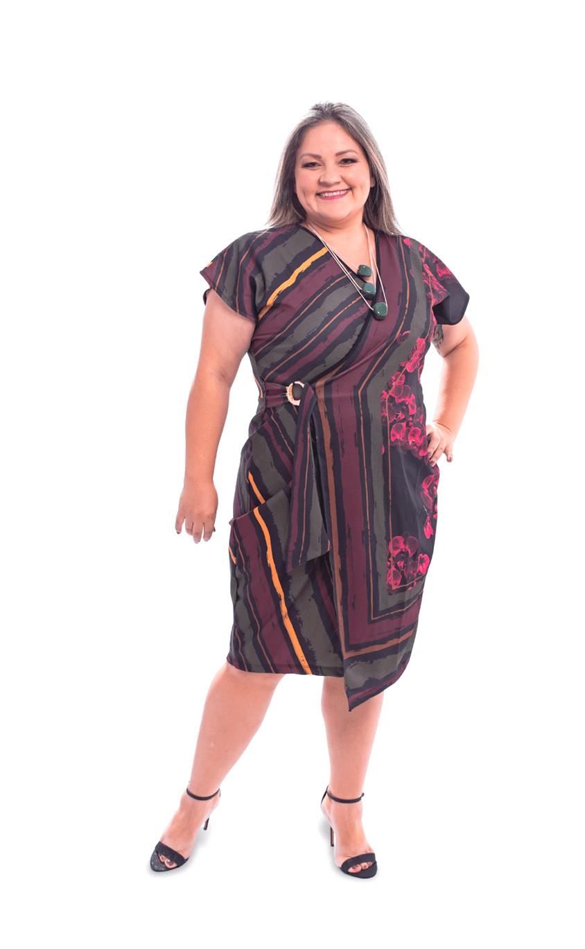 Vestido Plus Size Legato