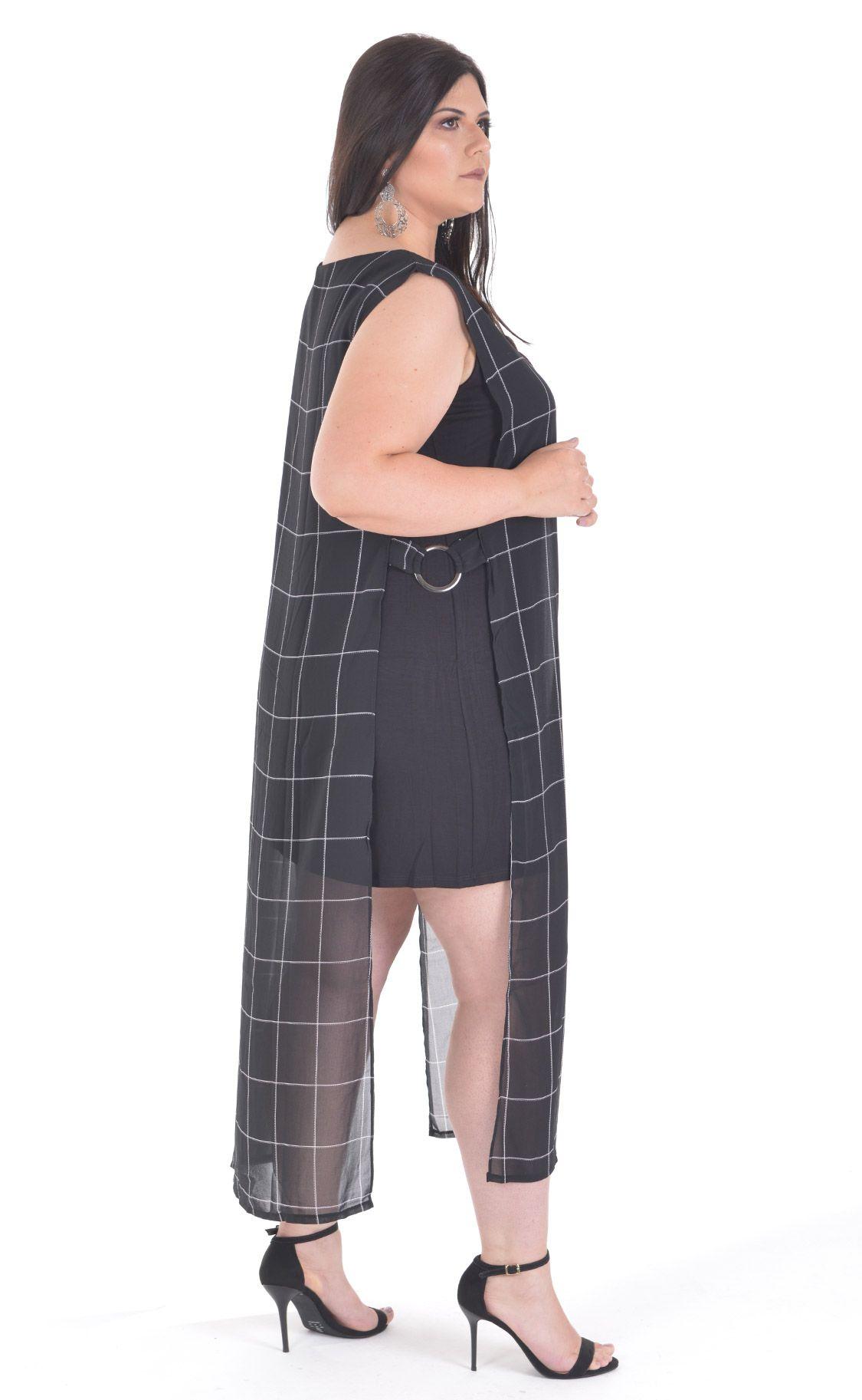 Vestido Plus Size Nui