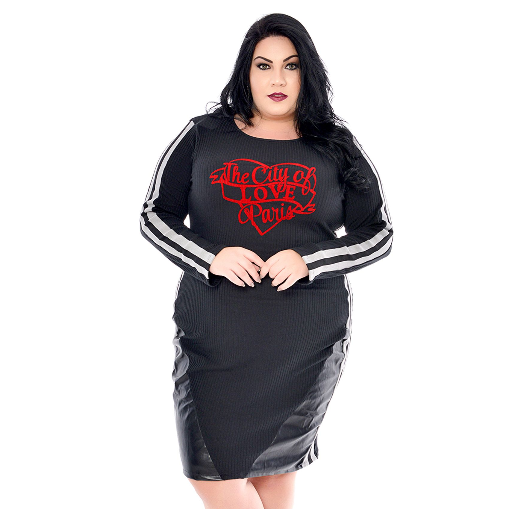 Vestido Plus Size Ondule