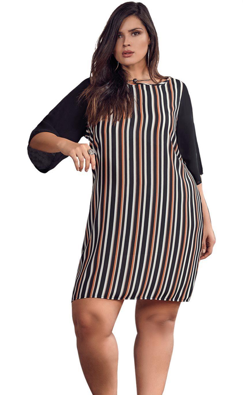 Vestido Plus Size Rander