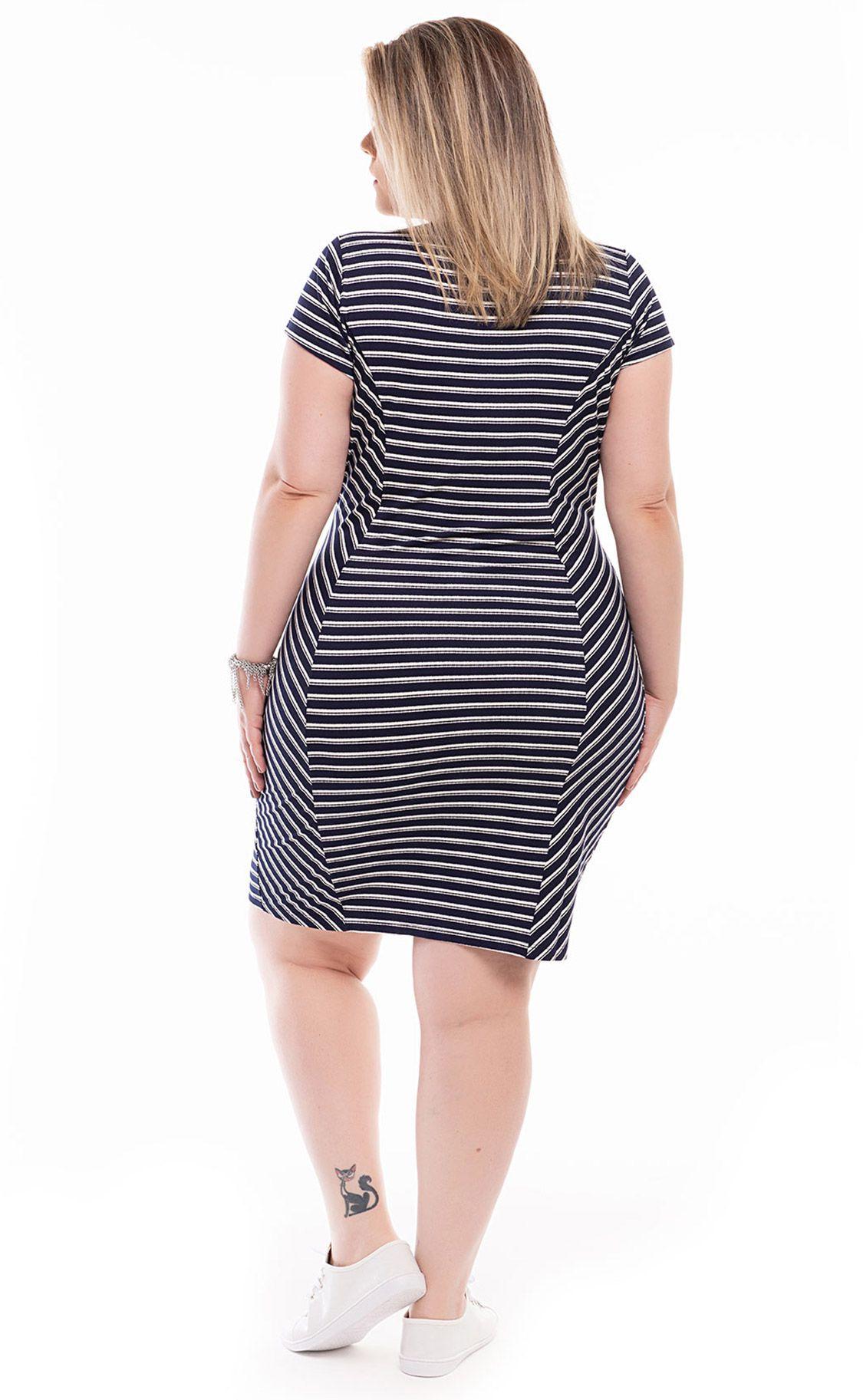 Vestido Plus Size Raye
