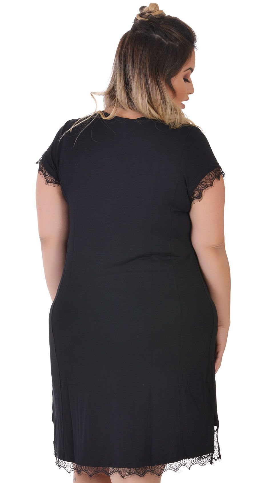 Vestido Plus Size Reddito