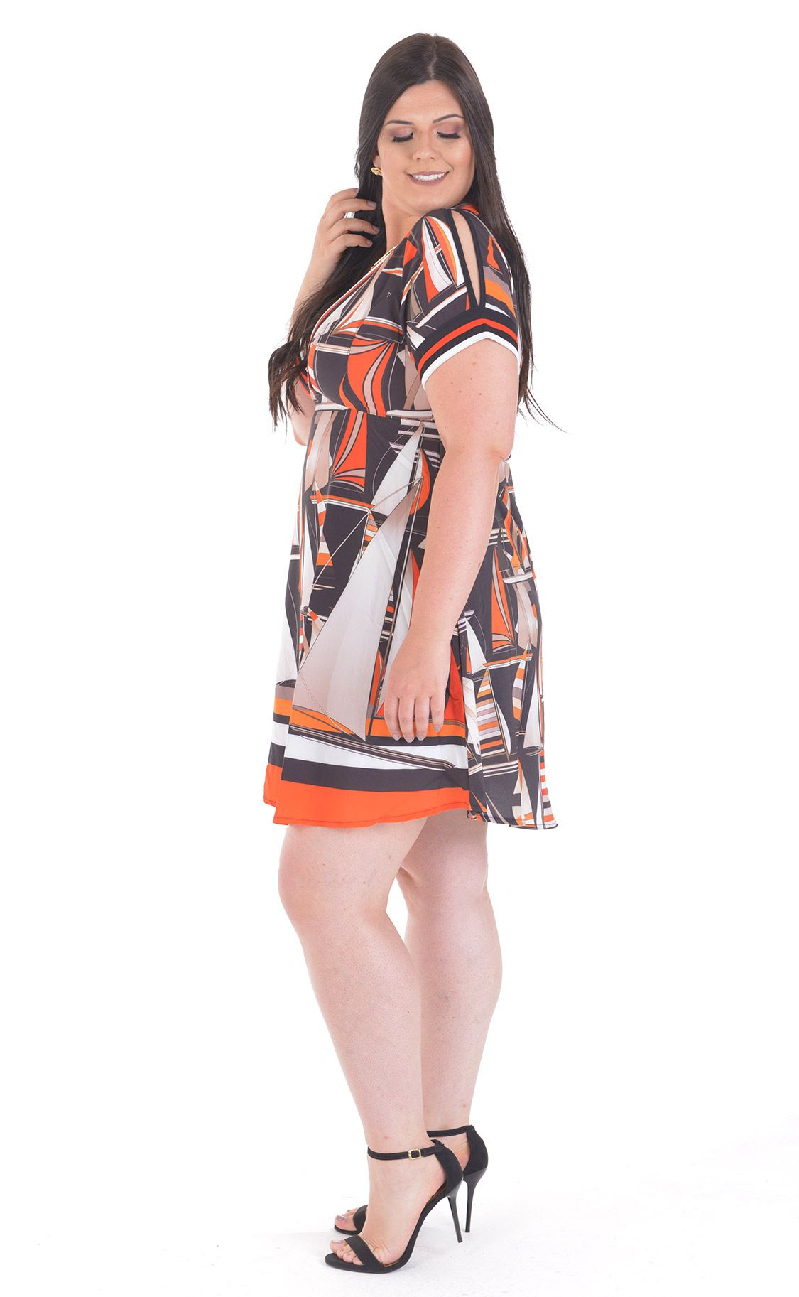 Vestido Plus Size Ship