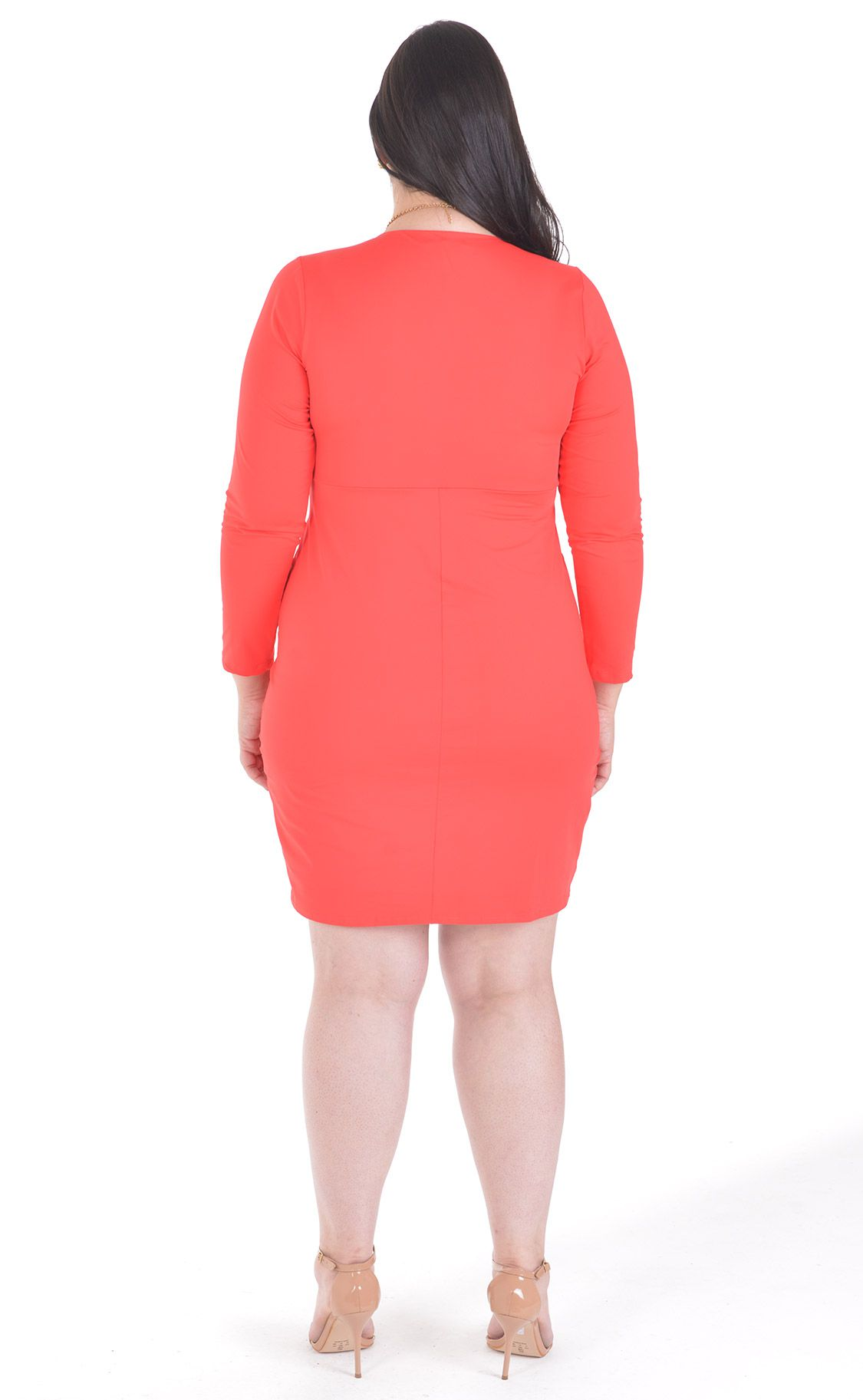 Vestido Plus Size Sillonne
